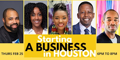 Starting a Business in Houston -  Entrepreneurship and Startups tickets