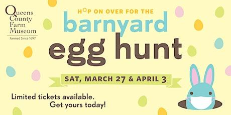 Barnyard Egg Hunt tickets