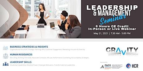 Leadership & Management Development Seminar tickets