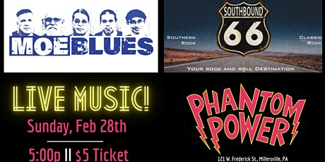 MOE Blues and Southbound66 tickets