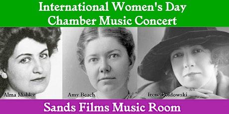 International Women's Day Chamber Music Concert tickets
