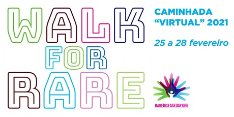 Walk For Rare | Caminhada Virtual bilhetes