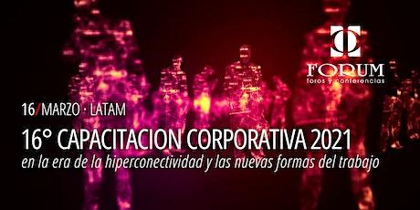 16° CAPACITACION CORPORATIVA 2021 entradas
