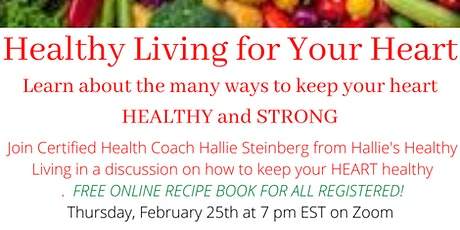 Healthy Living For Your Heart tickets