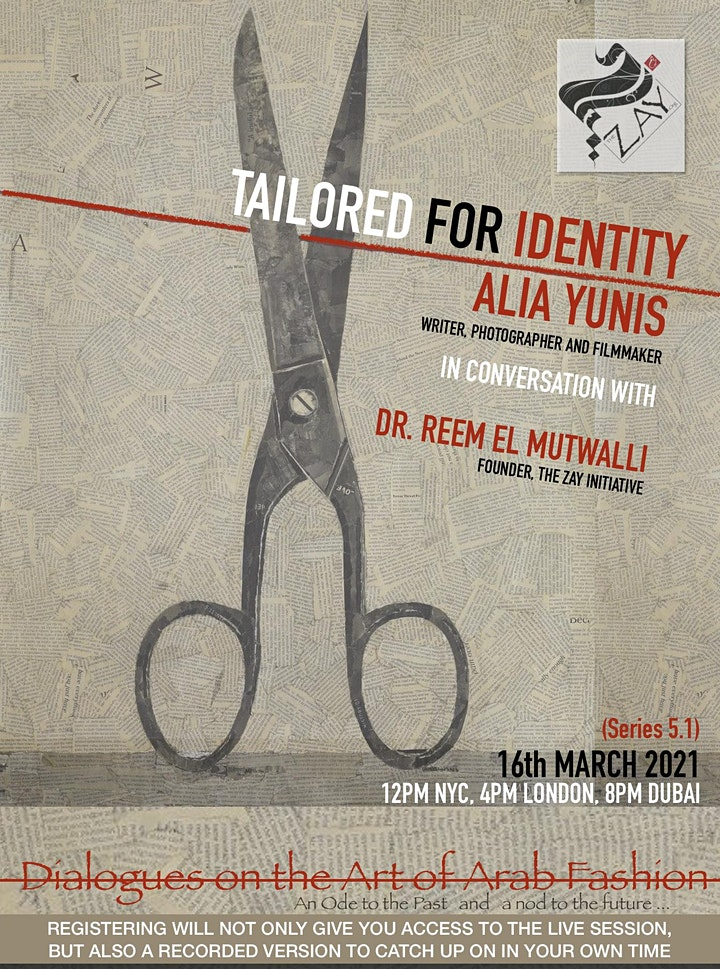 5.1 DIALOGUES ON THE ART OF ARAB FASHION: TAILORED FOR IDENTITY image
