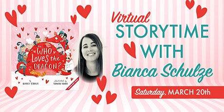Storytime with Bianca Schulze tickets