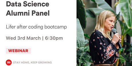Alumni Panel - Data Science Bootcamp tickets