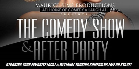 The Comedy Show & After-Party @ Monticello tickets