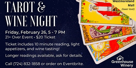 Tarot & Wine Night tickets