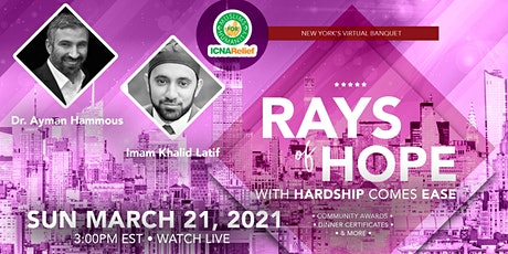 Rays Of Hope: With Hardship Comes Ease - New York tickets