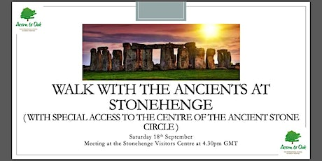 Walk with the Ancients at Stonehenge tickets