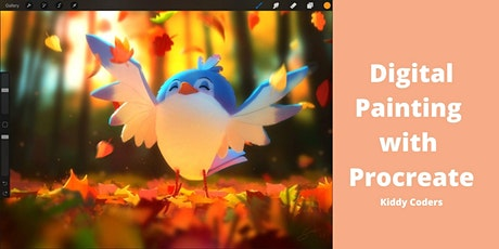 Digital Painting with Procreate - Art Private Class for Kids 9y.o. and up tickets