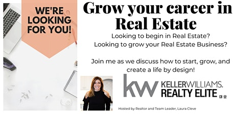 Grow a Career in Real Estate tickets