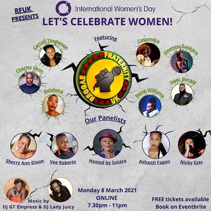 International Women's Day - Let's Celebrate Women image