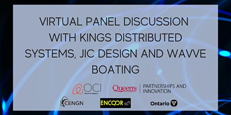 Virtual Panel Discussion with Kings Distributed Systems, JIC Design and Wav tickets