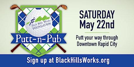 2021 Black Hills Works Foundation Putt-N-Pub tickets