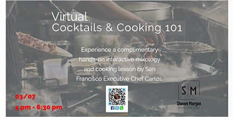 Virtual Cocktails & Cooking 101 tickets