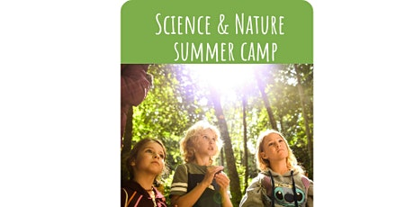 July 19-23: Science and Nature Summer Camp 2021, Ages 5 to 7 tickets
