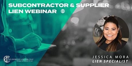 Subcontractor & Supplier Lien Webinar tickets