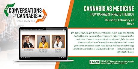 Conversations on Cannabis | Cannabis as Medicine tickets