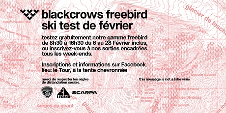 blackcrows freebird ski test de Février - Legend'CHX Chamonix billets