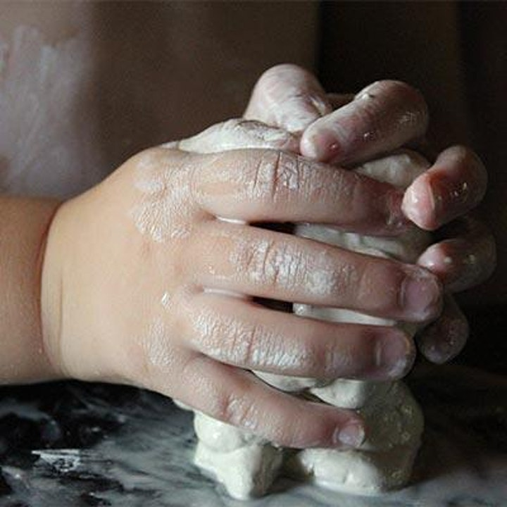 Art Power Hour @ Broadway: Parent + Child Sculpting Class image