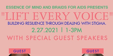 """Lift Every Voice"" Building resilience through dealing with stigma. tickets"