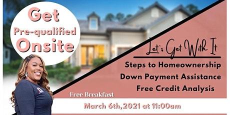 """Let's Get With it "" Home Buying Seminar tickets"