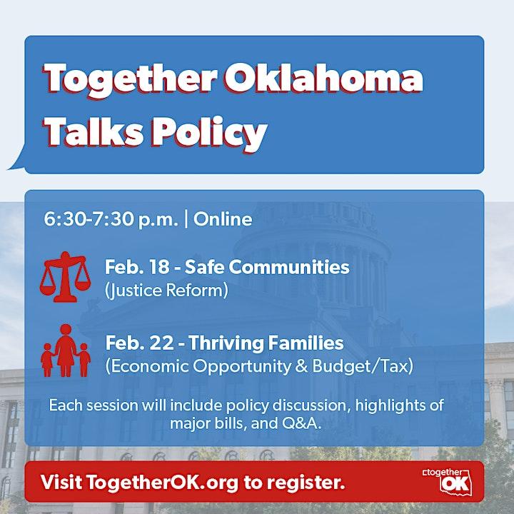 Together Oklahoma Talks Policy image