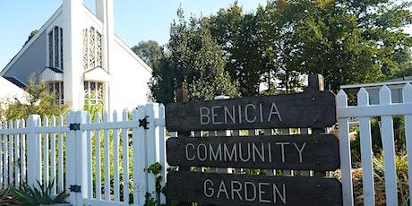 Benicia Community Garden Annual Meeting tickets