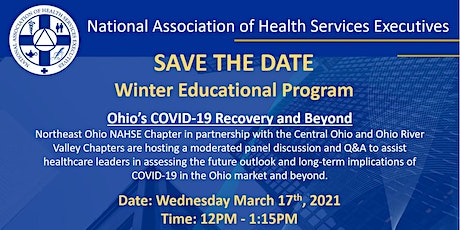 Ohio's COVID-19 Recovery and Beyond tickets