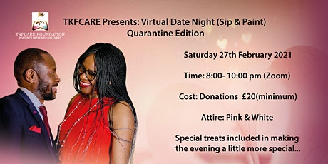 TKFCARE Presents: Virtual Date Night (Sip & Paint) tickets