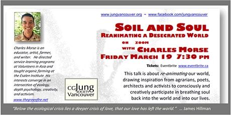 SOIL and SOUL  –   Reanimating a Desecrated World entradas