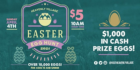 Heavenly Village Easter Egg Hunt tickets