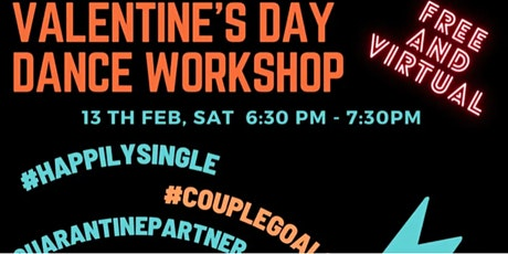 Valentine's Day Bollywood Dance Workshop - EST tickets