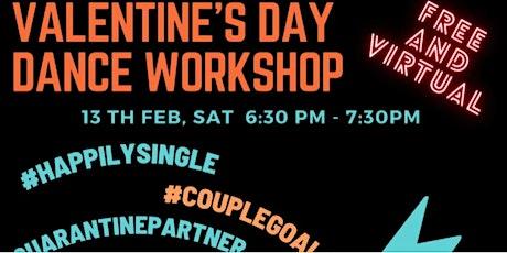 Valentine's Day Bollywood Dance Workshop - EST Tickets