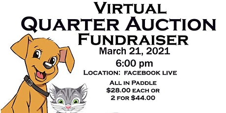 Virtual Quarter Auction tickets