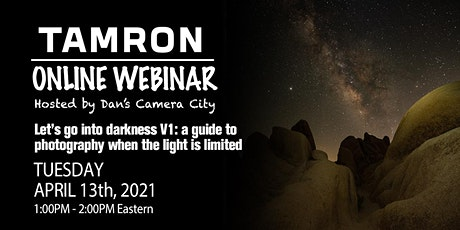 Let's Go Into Darkness: a guide to night sky photography tickets