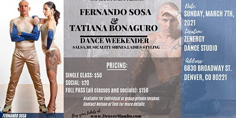 Fernando Sosa Denver Weekender tickets