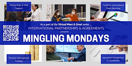 Mingling Mondays Virtual Faculty Meet & Greet Spring 2021 tickets