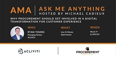 AMA- Ask Me Anything with Ryan Young of Acliviti