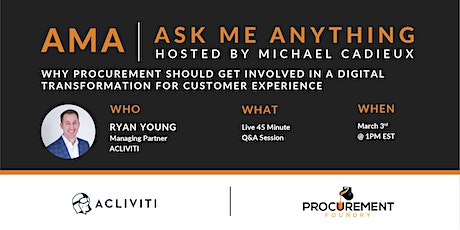 AMA- Ask Me Anything with Ryan Young of Acliviti tickets