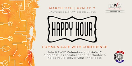 [WIC Week] Happy Hour - Communicating with Confidence tickets