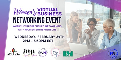 Women's Virtual Business Networking Event tickets