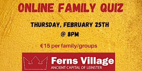Ferns Online Family Quiz tickets