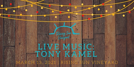 Live Music with Tony Kamel tickets