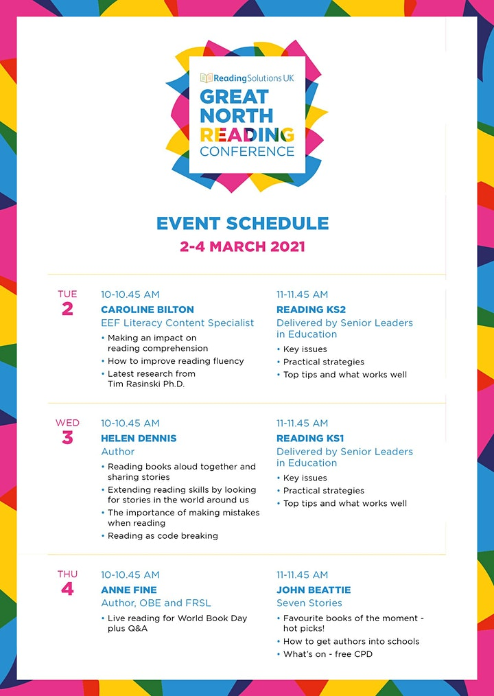 Reading Solutions UK - Great North Reading Conference image