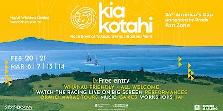 Ngāti Whātua Ōrakei invites Tāmaki Makaurau to whānau-friendly fan zone tickets