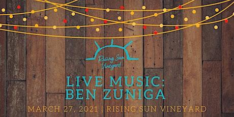 Live Music with Ben Zuniga tickets