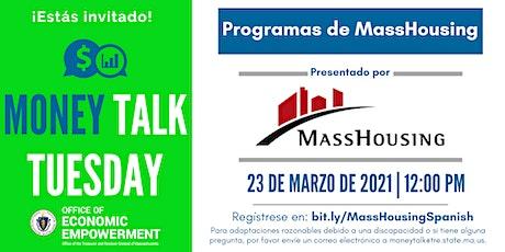 Programas de MassHousing | Money Talk Tuesday tickets